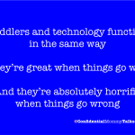 Toddlers and technology