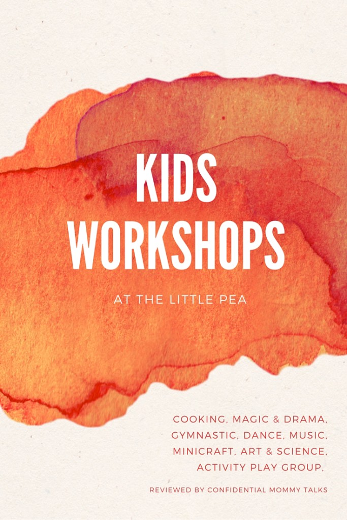 Little Pea is a cozy center for kids' activities and workshops in Bangkok, located at the Commons in Thong Lor. It offers 8 different types of classes suitable for kids of different ages: dance, music, magic and drama, cooking, mini craft, play group activities, gymnastics, science