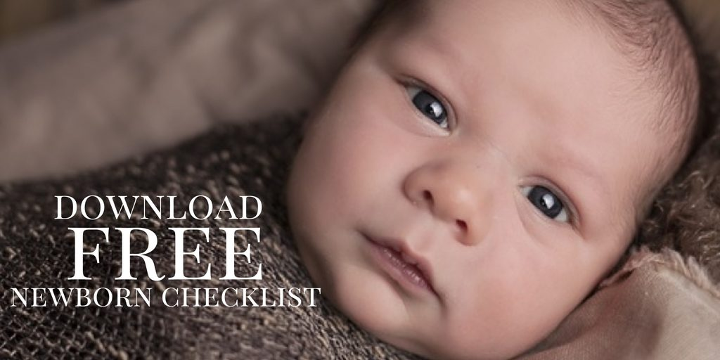 Click to download your FREE newborn checklist