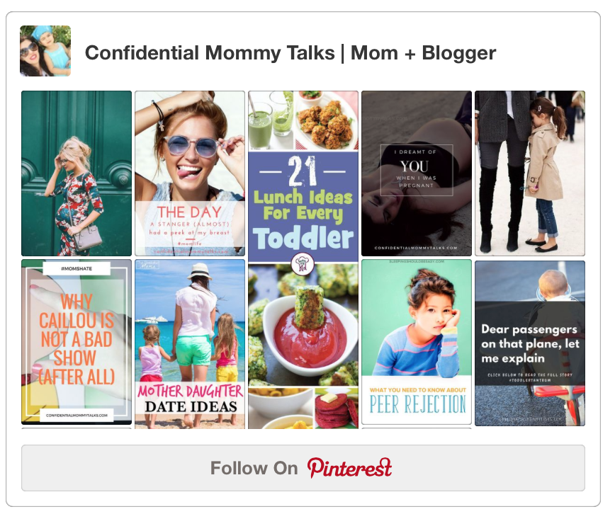 Find Confidential Mommy Talks on Pinterest