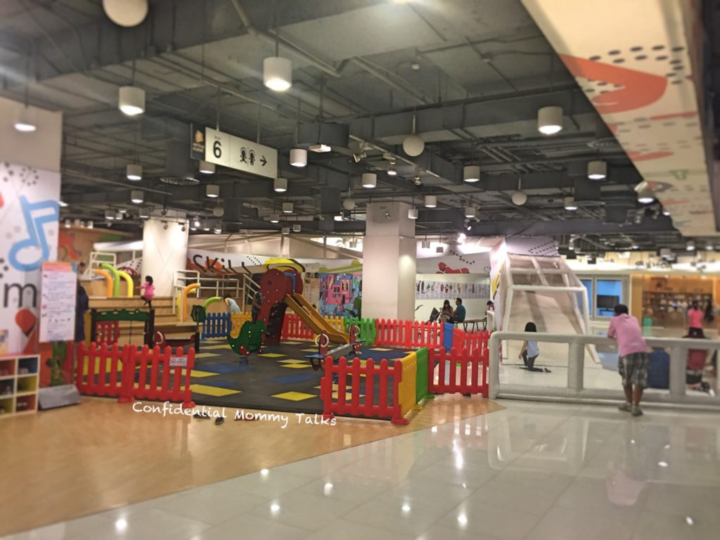 Kids area at Central World | Indoor Playground