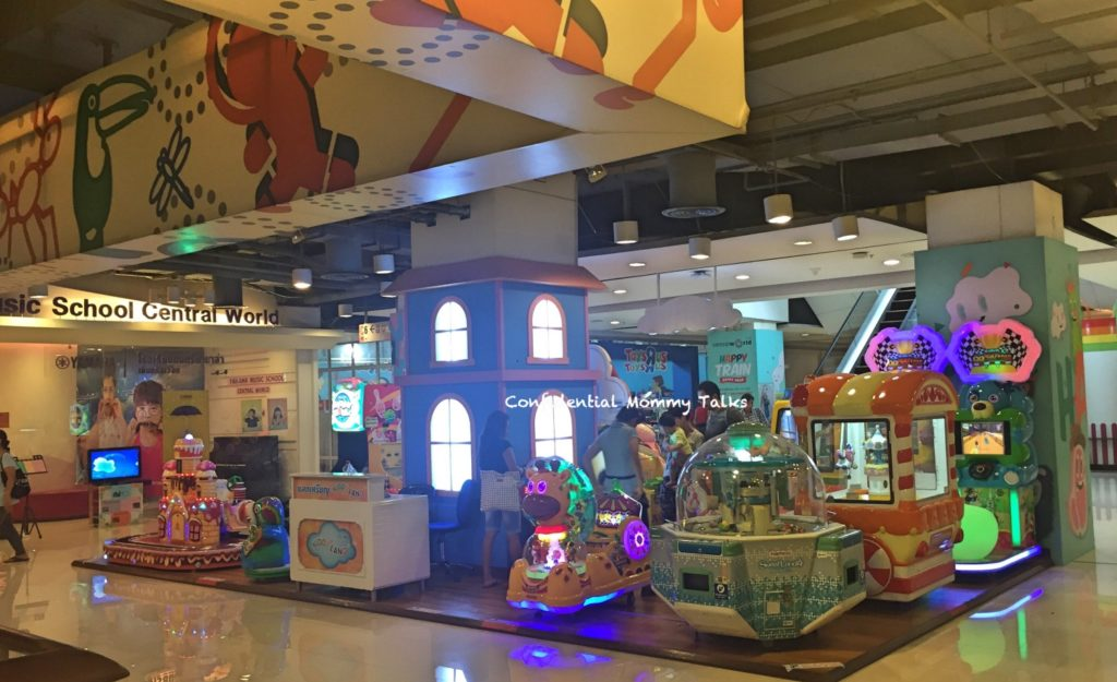 Kids area at Central World | Play area
