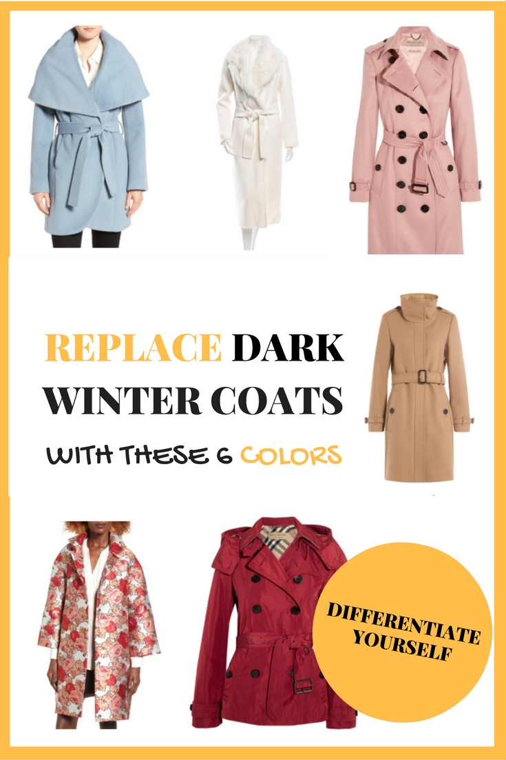 With these 5 different colors, you can different yourself this winter by moving away from the traditional dark winter colors and adding a pinch of brightness to your closet. The 5 colors that I've selected are camel, blue, red, white, pink and floral, and I've included different coats types and material to match every lifestyle. Online Shopping. #Affiliate