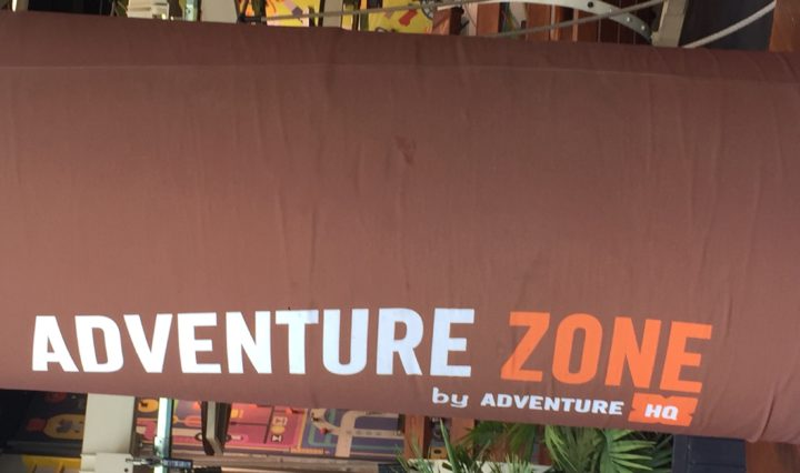 Adventure Zone by Adventure HQ seemed like a truly fun place to take my daughter because it's based on adventurous games, which work well with my daughter's lively and daring spirit.