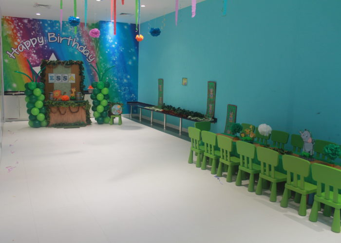Party rooms at Cheeky Monkeys