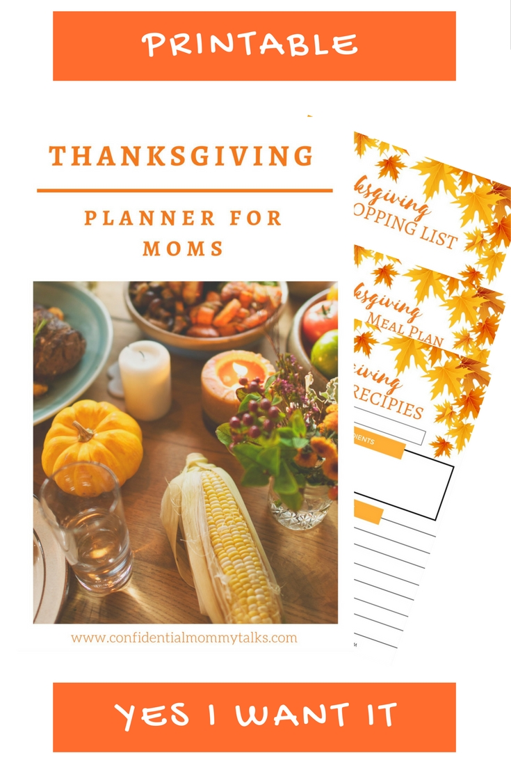 Download Your Free Thanksgiving Planner 2017